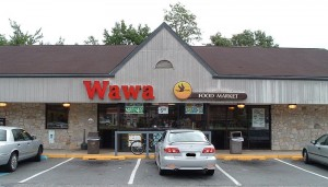 An older WaWa store in New Jersey