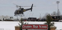 Chardon High School where the killer struck.