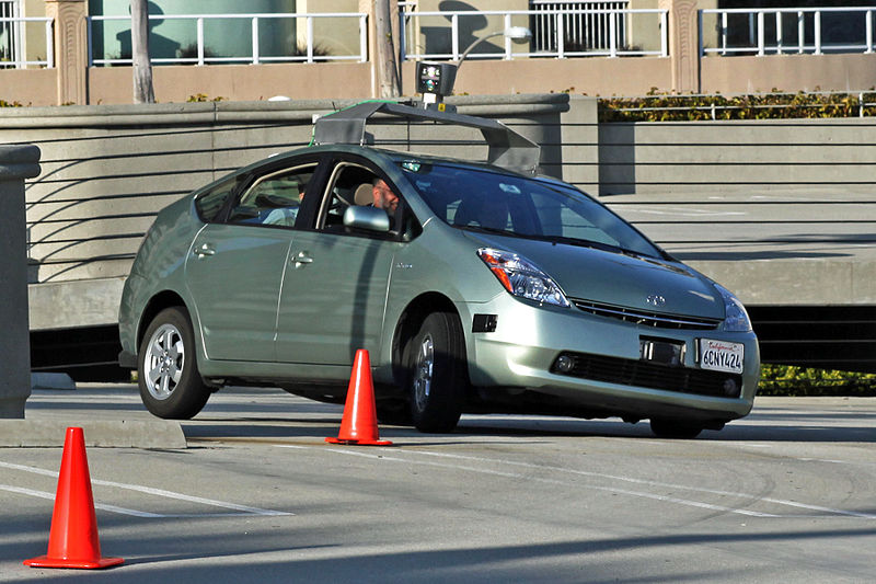 Robot cars hitting the roads in Nevada with red license