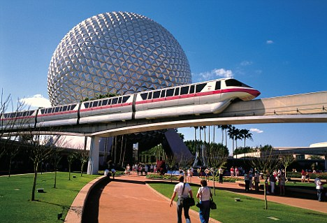 The exhibit was located in Epcot Center in Disney World Orlando.