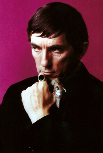 Jonathan Frid as Barnabas Collins in 1966.