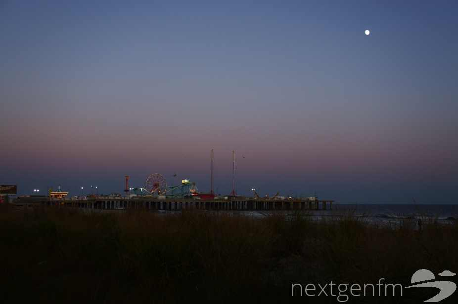 The circus pier at Atlantic City.  Photo by NEXTGEN NEWS.