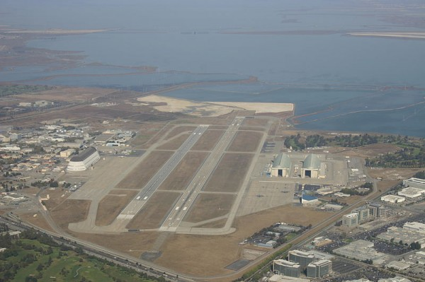 Moffett Federal Airfield in Mountain View, CA