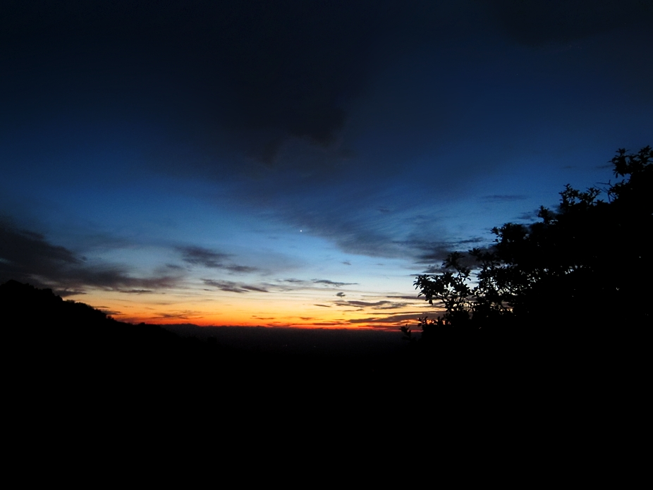 The sunset on Kitt Peak is a sunset you'll never forget. Venus made an appearance towards the end.  Kitt Peak was cold and beautiful.  The nearby light pollution of Phoenix and Tucson will inevitably make these monuments to science obsolete.