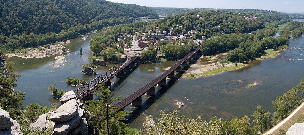 The Appalachian Trail Conservancy is located here in Harpers Ferry West Virginia. The trail passes right through the town and hikers can frequently be seen stopping to rest in the town.