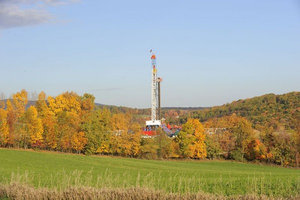 Drilling a horizontal shale gas well in Appalachia