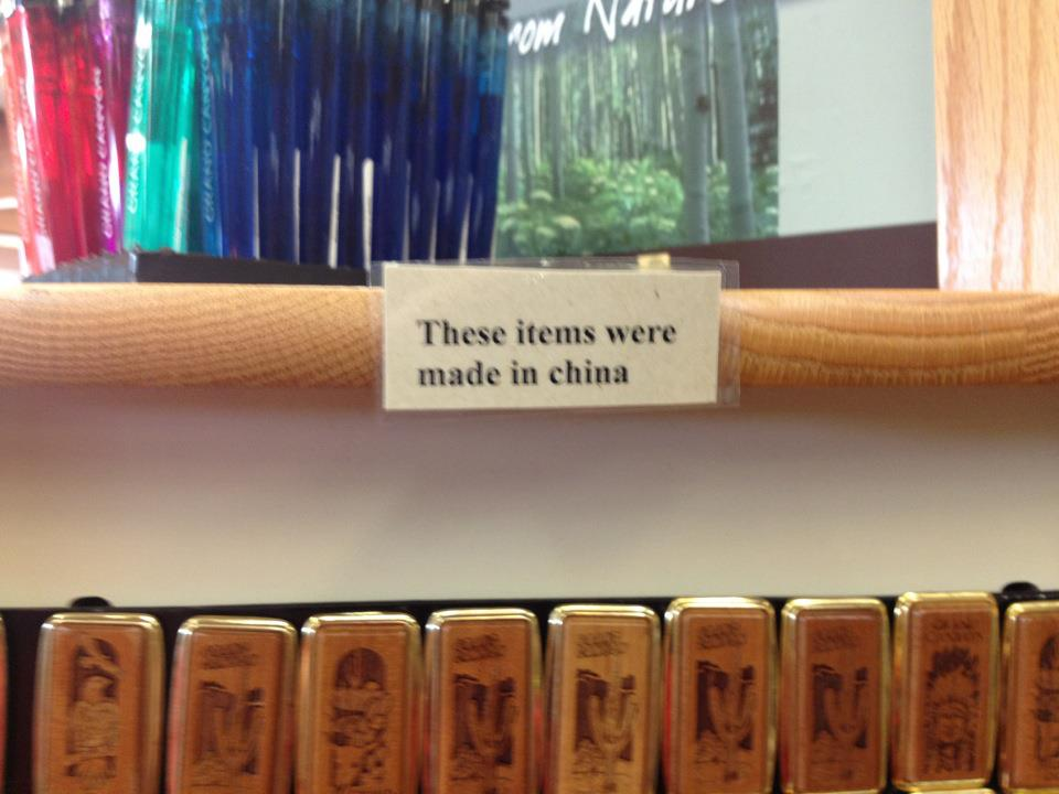 These items were made in china