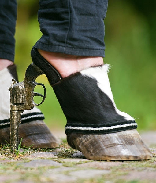 cloven hooved shoes