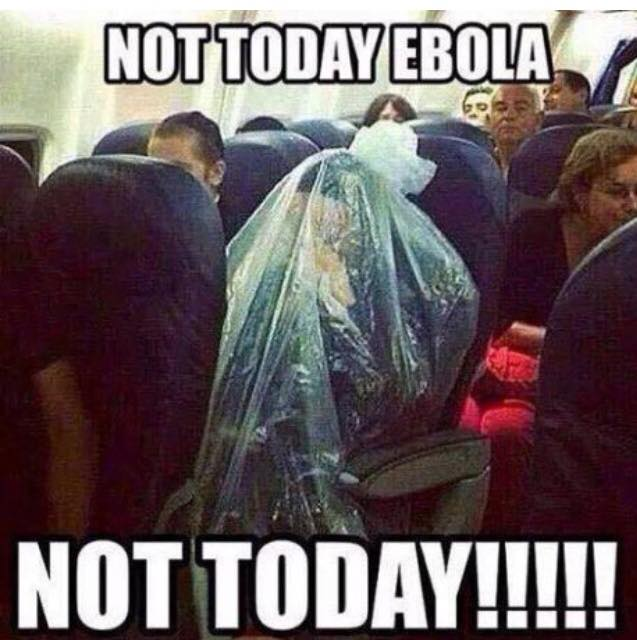 Not Today Ebola…not today