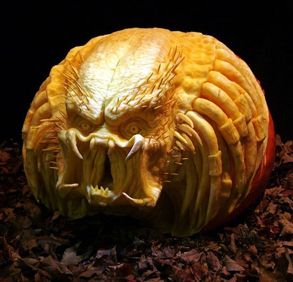 Predator Pumpkin Death