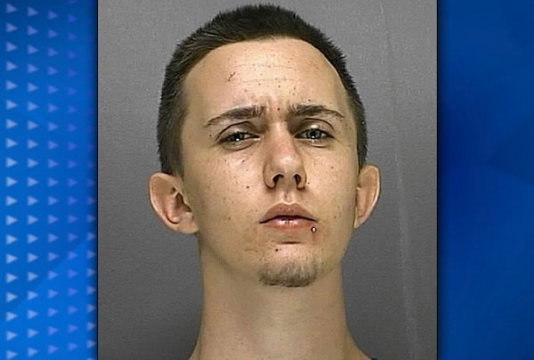 (PHOTO/Volusia County Jail) Mark Welch, 18, was arrested for making false 911 calls to report an odd dream he was having - Sunday, Sept. 2, 2012.