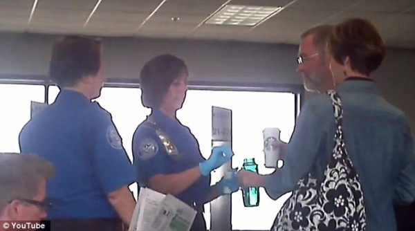 TSA testing carry on liquids
