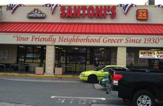 Santoni's Supermarket in Highlandtown Baltimore
