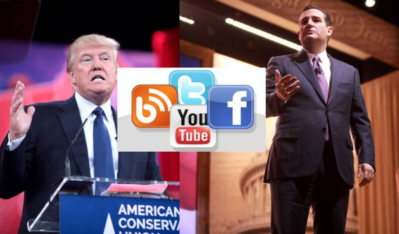 Social media is getting between Trump and Cruz and shaping how candidates deal with scandal and rumors
