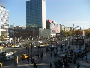 Kızılay Square in Ankara, Turkey's capital