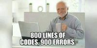 Code Guy checks his code