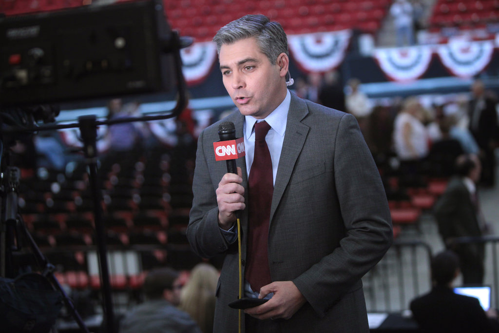 Photo of Jim Acosta by Gage Skidmore