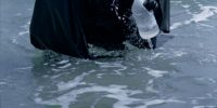 Darth Vader filters the ocean water