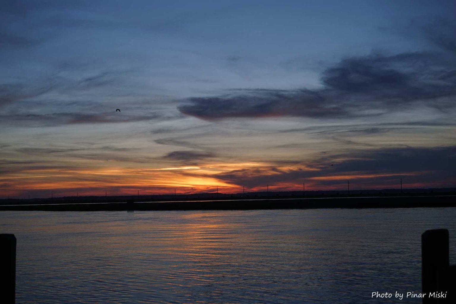 End your day on Chincoteague Island walking down main street and enjoying a unique sunset